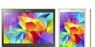 Samsung Galaxy Tab S : deux nouvelles tablettes haut de gamme