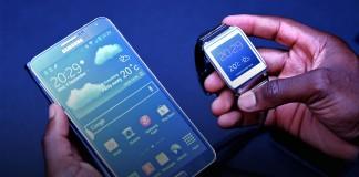 Samsung Gear et Galaxy Note