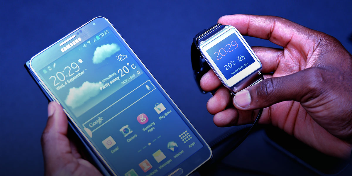 Samsung Gear et Galaxy Note