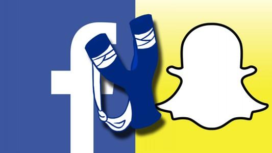 Slingshot : Facebook Vs Snapchat , la guerre est officiellement déclarée