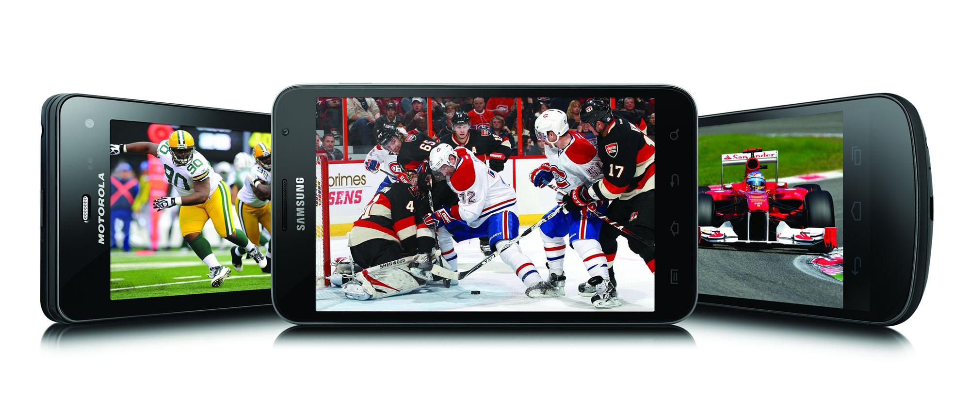 BELL CANADA - Sports à la télé mobile Bell : Match des étoiles