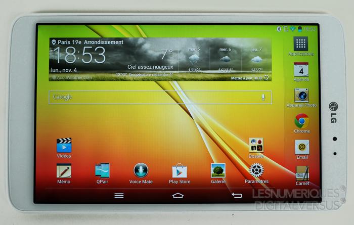 tablette lG