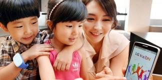 LG Kizon : suivez vos enfants à la trace