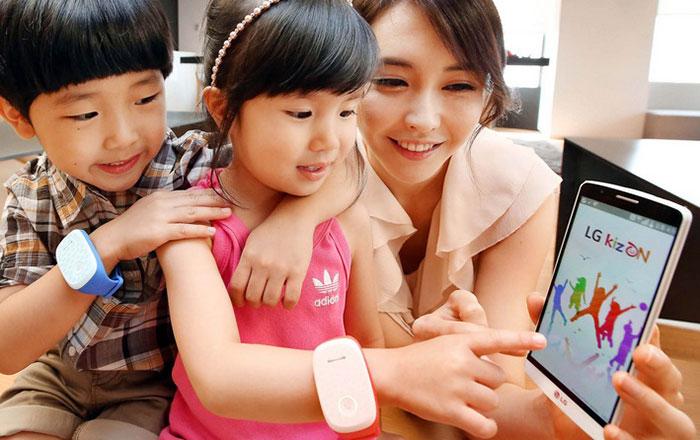 LG Kizon : surveillez vos enfants à distance