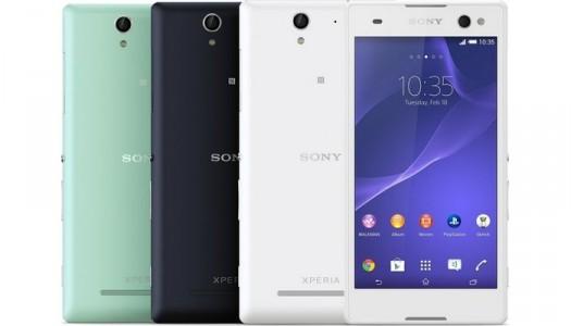 Sony Xperia C3, un smartphone pour faire des selfies