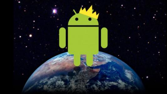 Android atteint 85% de parts de marché !