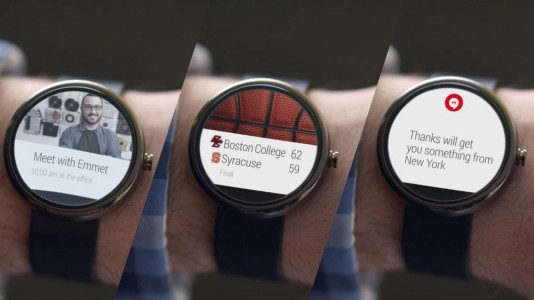 Android Wear : les premières applications disponibles