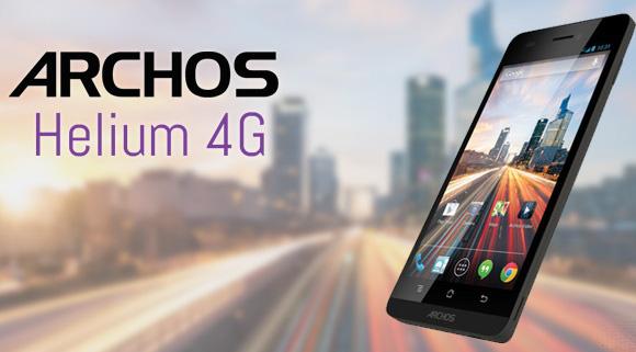 Test de l'Archos 50 Helium 4G