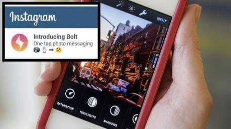 Bolt, le « Snapchat » d'Instagram est apparu et a disparu