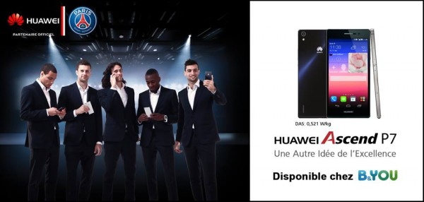 [Bon Plan] l'Huawei Ascend P7 chez B&You � 329�