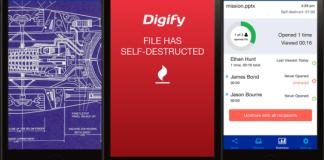 Digify : l'application qui auto-détruit vos documents