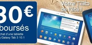 Cdiscount : Samsung Galaxy Tab 3 à moins de 200 €