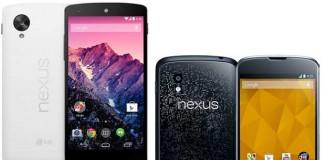 [Meilleur Prix] Google Nexus 4 / Nexus 5 : où les acheter en ce 03/07/2014 ?