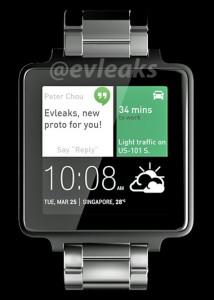 HTC se lance dans les montres connectées