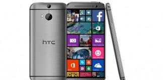 HTC One M8 : une version Windows Phone
