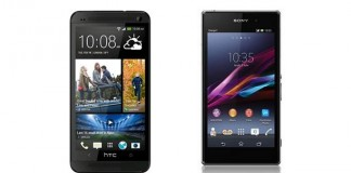 Comparatif HTC One vs Sony Xperia Z1