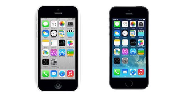 Comparatif Apple iPhone 5C vs iPhone 5S - Meilleur Mobile