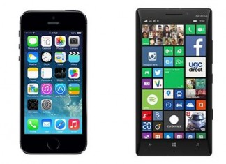 Comparatif iPhone 5S vs Nokia Lumia 930