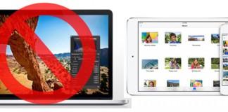 Apple arrête iPhoto