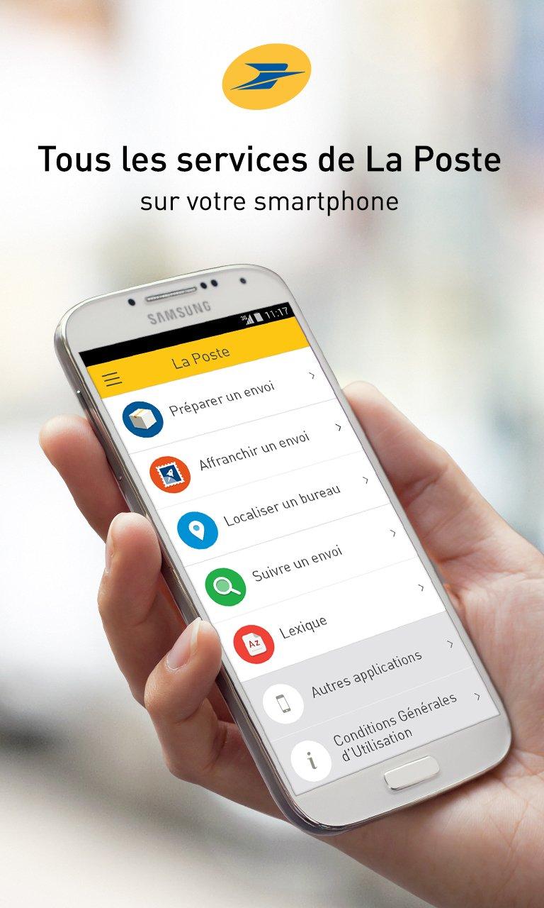 La poste livre enfin son application mobile meilleur mobile - Paiement a la livraison la poste ...