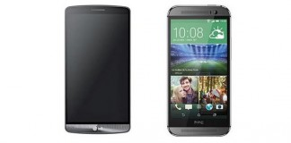 Comparatif LG G3 et HTC One M8