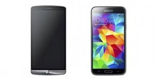 Comparatif LG G3 vs Samsung Galaxy S5