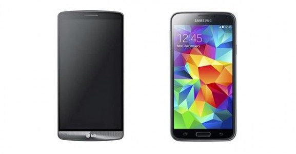 comparatif lg g3 vs samsung galaxy s5 meilleuractu. Black Bedroom Furniture Sets. Home Design Ideas
