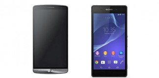 Comparatif LG G3 et Sony Xperia Z2