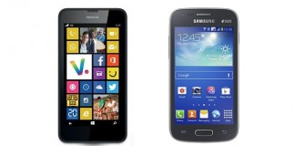 Comparatif Nokia Lumia 635 vs Samsung Galaxy Ace 3