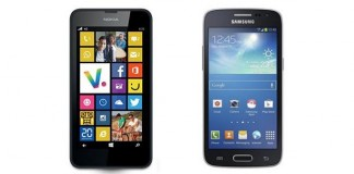 Comparatif Nokia Lumia 635 vs Samsung Galaxy Core 4G