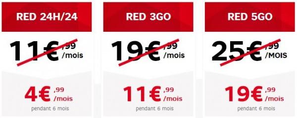 RED lance des offres barrées !
