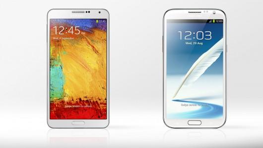 [Meilleur prix] Samsung Galaxy Note 2/Galaxy Note 3 : où les acheter en ce 10/07/2014 ?