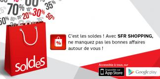 SFR : Les meilleures ventes des soldes