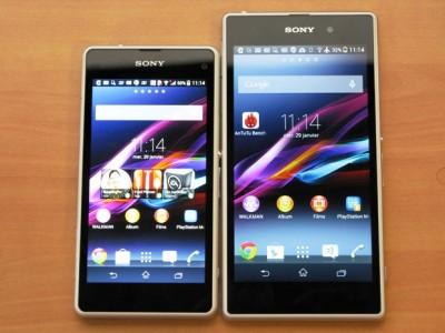 [Meilleur Prix] Sony Xperia Z1/Z1 Compact : où les acheter au 27/08/2014 ?