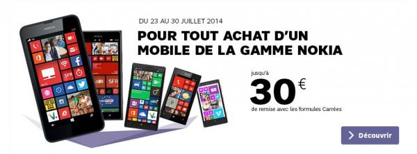 Summer Camp Acte II : 30€ de remise pour l'achat d'un Nokia