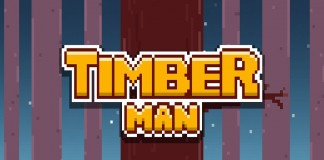 Timberman : sciez la branche de Flappy Bird