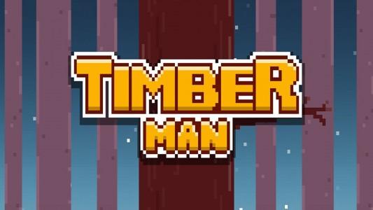 Timberman : sciez la branche de Flappy Bird