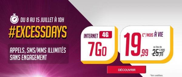 [Bon plan] Virgin Mobile lance la troisième édition des Excess Days !