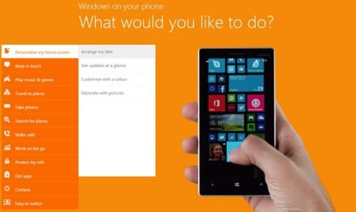 Windows Phone : essayez-le sur le web !