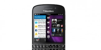 Test BlackBerry Q10, le retour du clavier