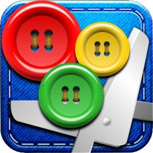 boutons et ciseau