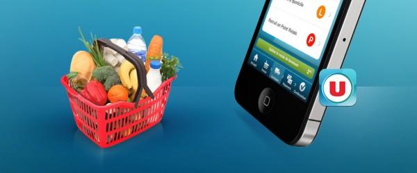 Course U : Faites vos courses sur votre téléphone