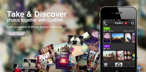 EyeEm : une application photo de partage et de découverte