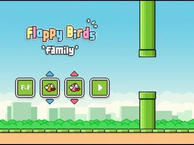 Flappy Birds Family propose un mode multijoueur