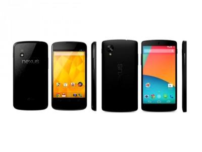 [Meilleur Prix] Google Nexus 4/Nexus 5 : o� les acheter en ce 21/08/2014 ?