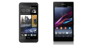 [Comparatif] HTC One Mini vs Sony Xperia Z1