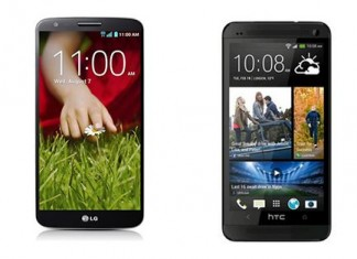 Comparatif LG G2 vs HTC One