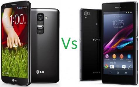 [Battle] LG G2 vs Sony Xperia Z1