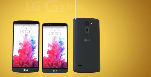 smartphone lg annonce son lg g3 stylus