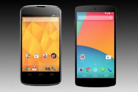 [Meilleur Prix] Google Nexus 4 /Nexus 5 : où les acheter en ce 07/08/2014 ?